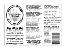 Load image into Gallery viewer, Herbal Answers Herbal Aloe Force - The Skin Gel Label