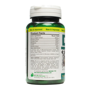 Amercian Biosciences DGP Supplement Facts