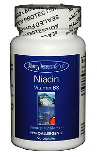Allergy Research Group Niacin Vitamin B3