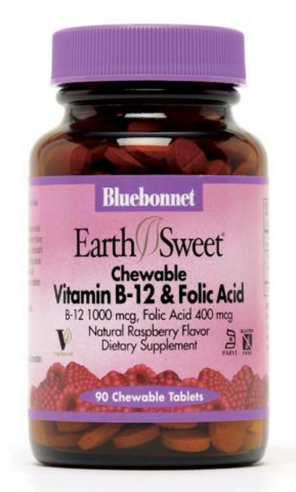 Bluebonnet Vitamin B-12 & Folic Acid