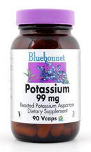 Load image into Gallery viewer, Bluebonnet Potassium 99mg