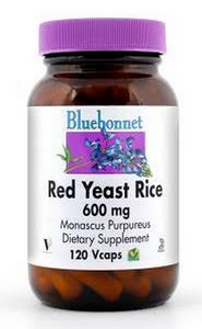 Bluebonnet Red Yeast Rice 600mg