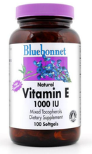 Load image into Gallery viewer, Bluebonnet Vitamin E 1000IU