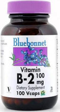 Load image into Gallery viewer, Bluebonnet B-2 100mg 100 vcaps Front