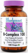 Load image into Gallery viewer, Bluebonnet B-Complex 100 100 vcaps Front