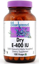 Load image into Gallery viewer, Bluebonnet Dry E-400 IU 100 capsules front