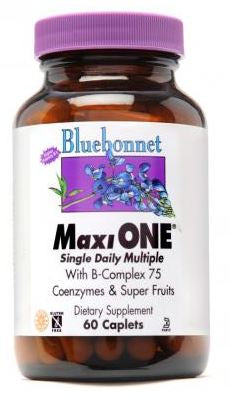 Bluebonnet Maxi One (with Iron) 60 caplets Front