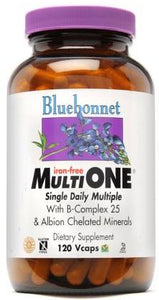 Bluebonnet Iron Free Multi One 60 caplets Front