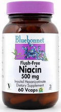 Load image into Gallery viewer, Bluebonnet Flush-Free Niacin 60 capsules