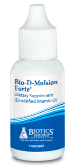 Biotics Research Bio-D-Mulsion Forte