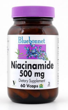 Load image into Gallery viewer, Bluebonnet Niacinamide 500mg