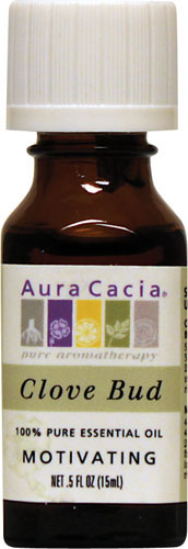 Aura Cacia Essential Oil Clove Bud 0.5 oz