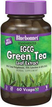 Load image into Gallery viewer, Bluebonnet Herbals Standardized Green Tea Extract 60 Capsules Front