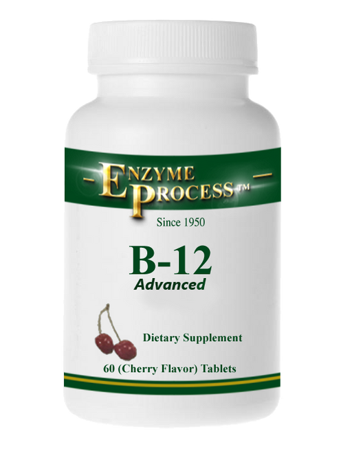 B-12  (Cherry) 60 Tablets | Enzyme Process
