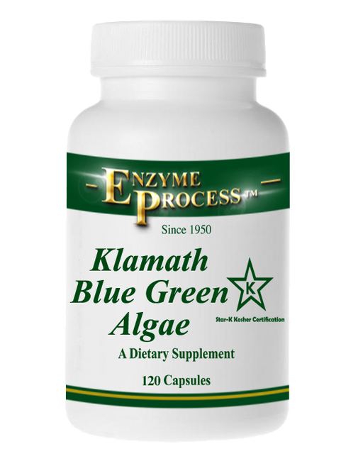 Blue Green Klamath Algae 120 Capsules | Enzyme Process