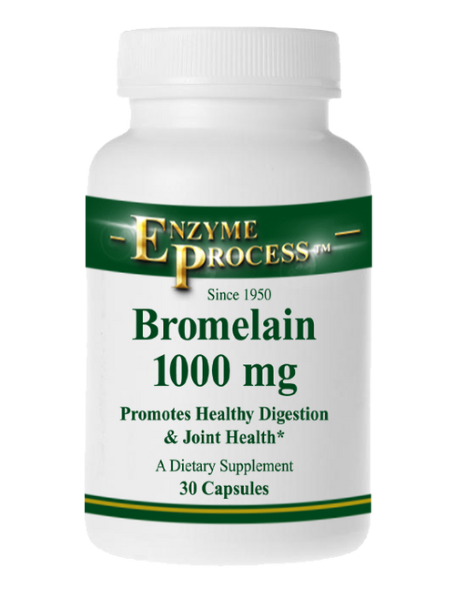 Bromelain 1000MG 30 Capsules | Enzyme Process