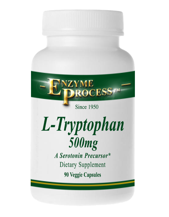 L-Tryptophan 500Mg 90 Capsules | Enzyme Process