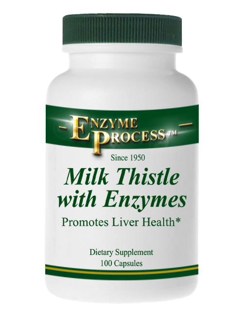 Milk Thistle 100 Capsules | Enzyme Process