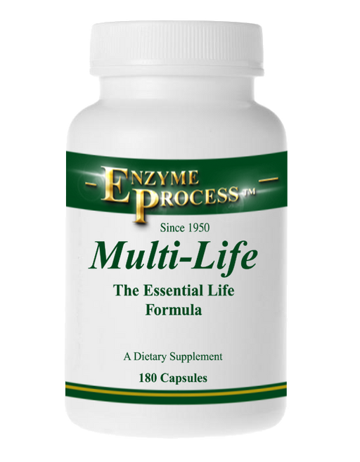 Multi Life 180 Capsules (With Iron) | Enzyme Process