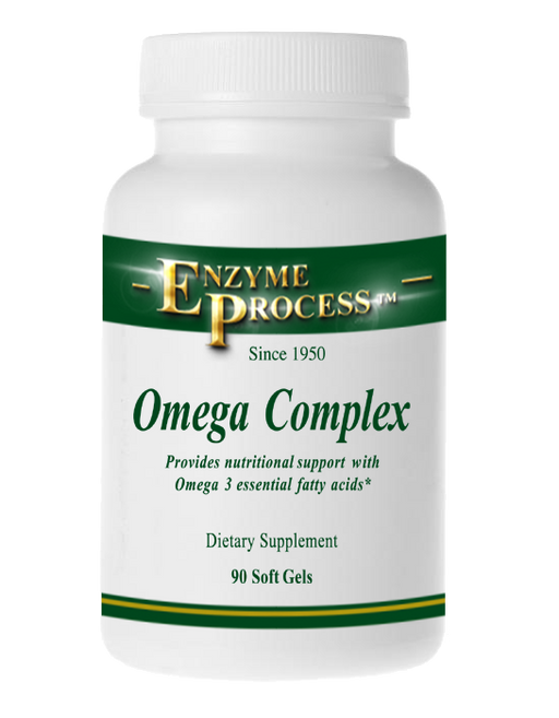 Omega Complex 90 Soft Gels | Enzyme Process