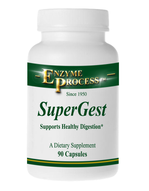 Super-Gest 90 Capsules | Enzyme Process