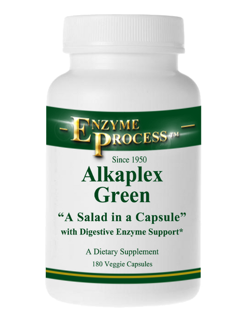 Alkaplex Green 180 Capsules | Enzyme Process