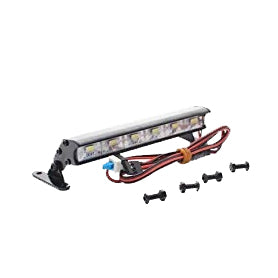 6 LED 105mm Alloy Light Bar 1:16 1:18 1:10 RC Traxxas Rustler Stampede