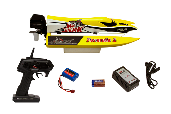 "Joysway Madshark F1 17"" Tunnel Hull Remote Control RC Racing Boat 
