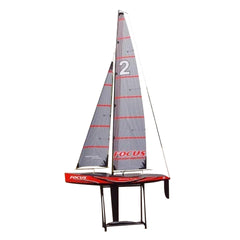 "Joysway Focus Sailboat Large 6' 9"" Tall Remote Control RC Yacht 