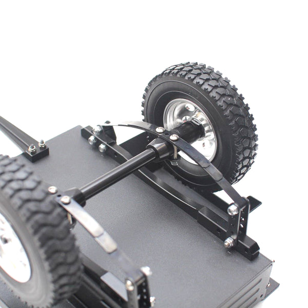 Vanguard Hobby 1:10 Scale Cargo Box Side Trailer for RC Rock Crawler Trail Truck