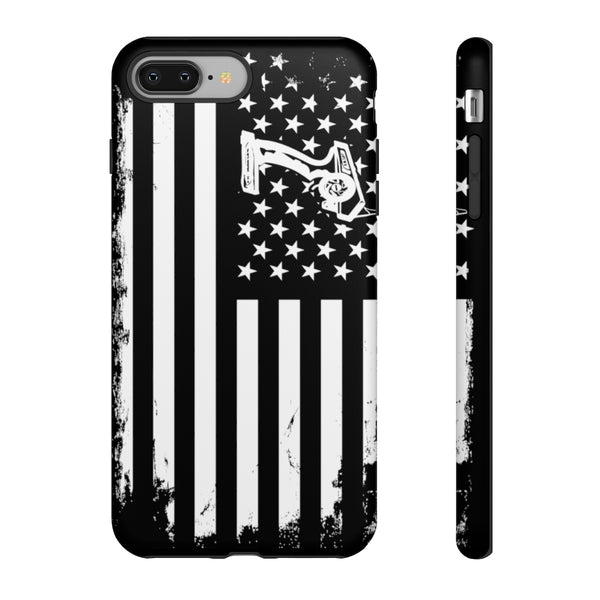Tough iPhone Cases - RC Hobby USA Flag (All Latest Models)