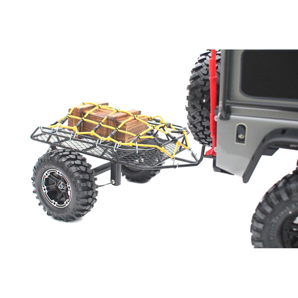 Vanguard Hobby 1:10 Scale Overland Cargo Trailer for RC Rock Crawler Trail Truck