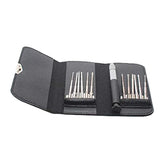 13 in 1 Screwdriver Field Set Repair Tool Kit with Leather Pocket Carry Case