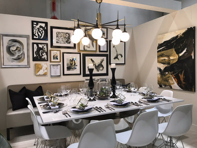Dinner by Design Calgary: A Sneak Peek at Rochelle Cote's Contemporary Tablescape