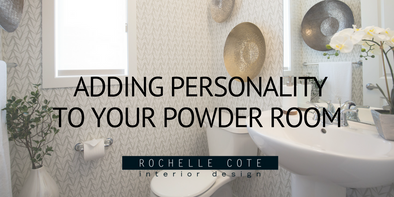Adding Personality to Your Powder Room