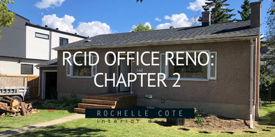 RCID Office Reno – Chapter 2: Office Renovation Update
