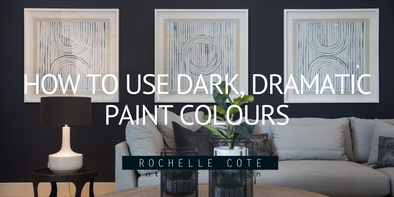 How to Use Dark, Dramatic Paint Colours