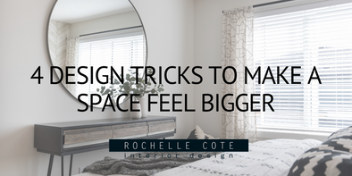 4 Design Tricks to Make A Space Feel Bigger