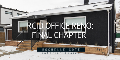 RCID Office – Chapter 5: Office Renovation Finalized