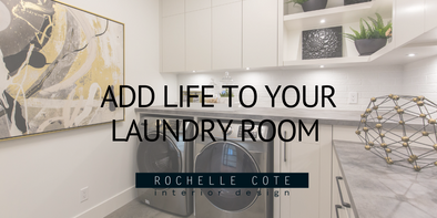 Add Life to Your Laundry Room