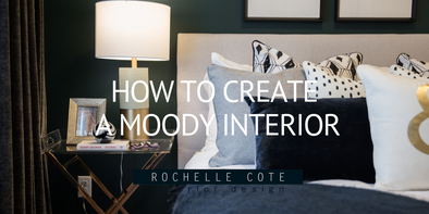 How to Create a Moody Interior