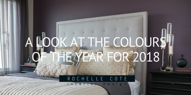 A LOOK AT THE COLOURS OF THE YEAR FOR 2018