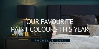 OUR FAVOURITE PAINT COLOURS THIS YEAR