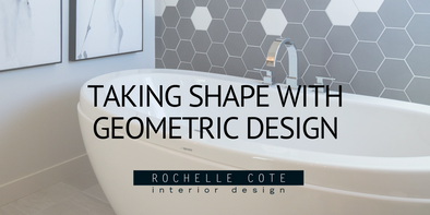 TAKING SHAPE WITH GEOMETRIC DESIGN