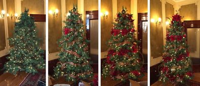 A BEHIND THE SCENES LOOK AT DECORATING THE LOUGHEED HOUSE