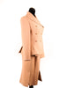 Dior Tan Wool Suit