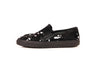 Carven Suede Embroidered Slip-on Sneakers