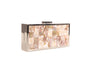 Sondra Roberts Shell Evening Clutch