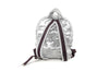 Chanel Silver Backpack