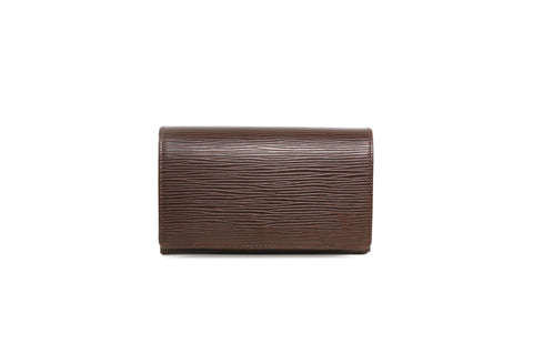 Louis Vuitton Brown Epi Leather Wallet